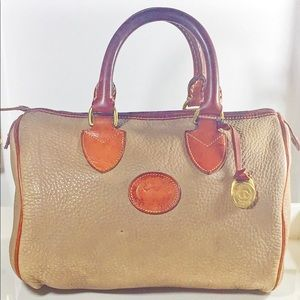 Dooney & Bourke Vintage AW pebbledLeather Satchel